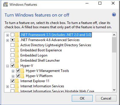 Роль Hyper V в Windows 10