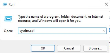 sysdm.cpl - панель настройки оборудования windows