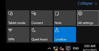 windows 10 - все параметры