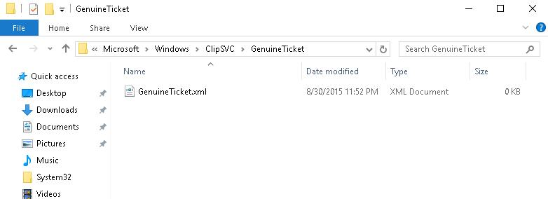 GenuineTicket.xml