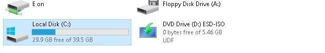 Освобождено 2 гб места на системном диске
