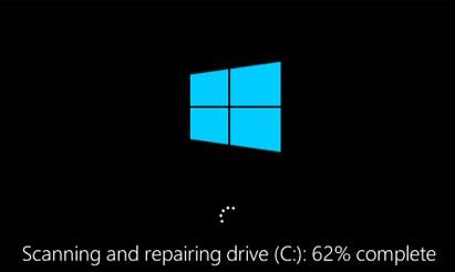 выполняется проверка диска при загрузке windows 10