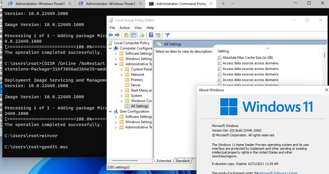 запуск редактора gpo gpedit.msc в windows 10 и windows 11