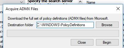 скачать последние версии admx файлов шаблонов политик с помощью policy plus