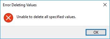 не удается удалить в реестра windows server параметр L$RTMTIMEBOMB