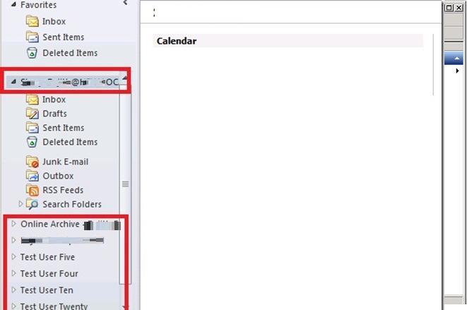 Отключить автоматическое сопоставление ящиков в Outlook