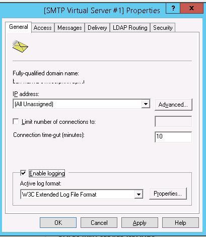Адрес SMTP сервера