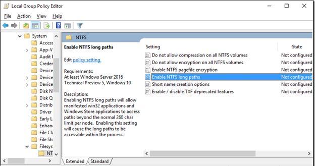 Групповые политики NTFS