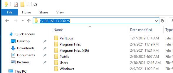 разрешить удаленный доступ к административным шарам в windows 10