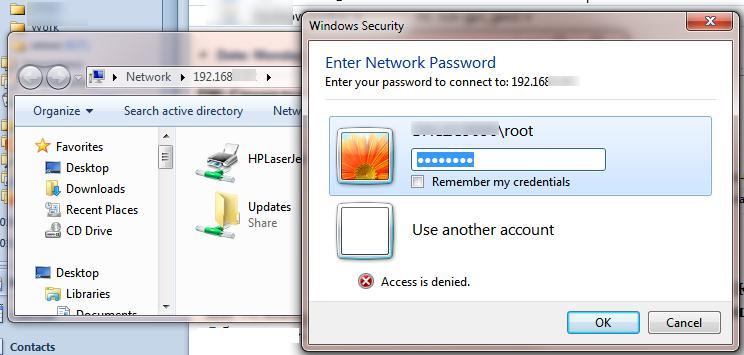 Windows10 не работает удаленный доступ к административным шарам