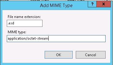 esd тип файла в расширении mime