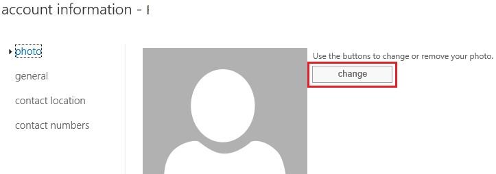 outlook web access загрузка фото пользователя Active Directory через Exchange