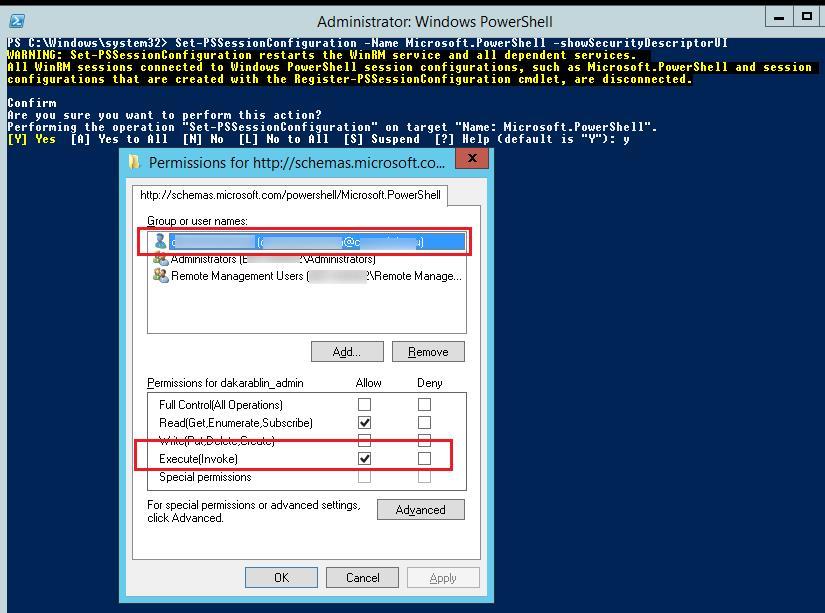 PowerShell SecurityDescriptorUI