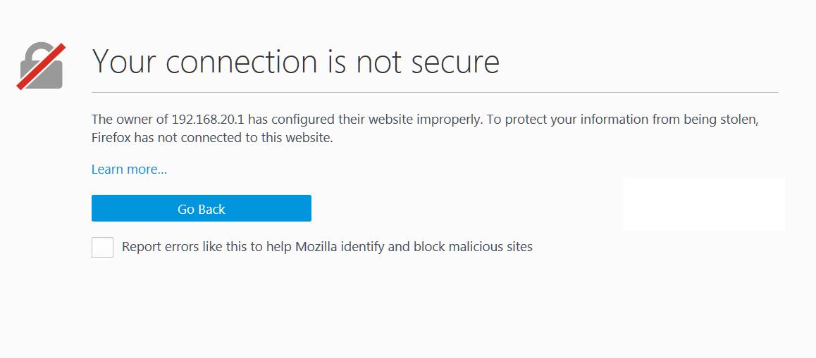 нет кнопки Advanced в Mozilla Firefox