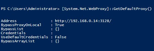 System.Net.WebProxy]::GetDefaultProxy в powershell