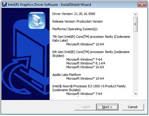 intel-video-driver-instaler