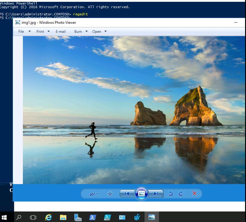 windows photo viewer в windows server 2016