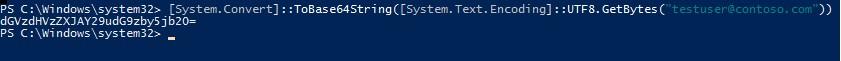powershell конвертировать текст в Base64