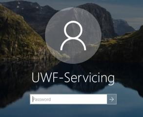 windows 10 встроенный пользователь UWF-Servicing