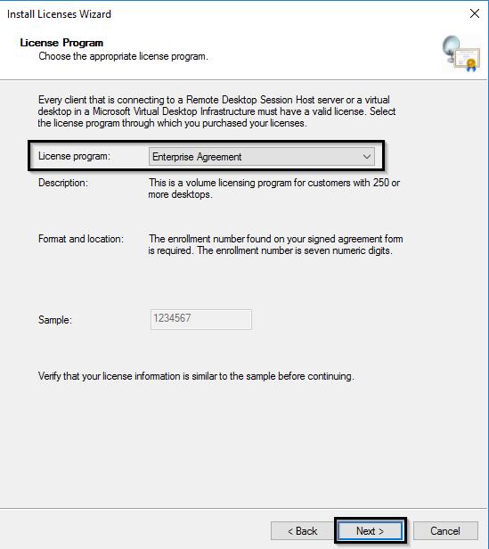программа лицензирования Enterprise Agreement