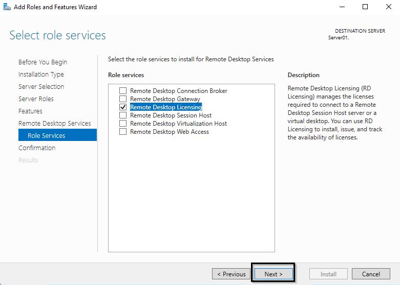 Remote Desktop Licensing - служба лицензирования терминалов