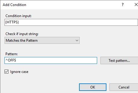 url rewrite добавить условия