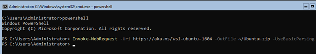 Invoke-WebRequest -Uri https://aka.ms/wsl-ubuntu-1604
