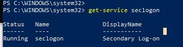 windows - служба вторичного входа в систему нужна для запуска от имени