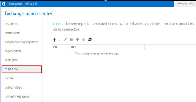 Mail flow - транспортные правила exchange