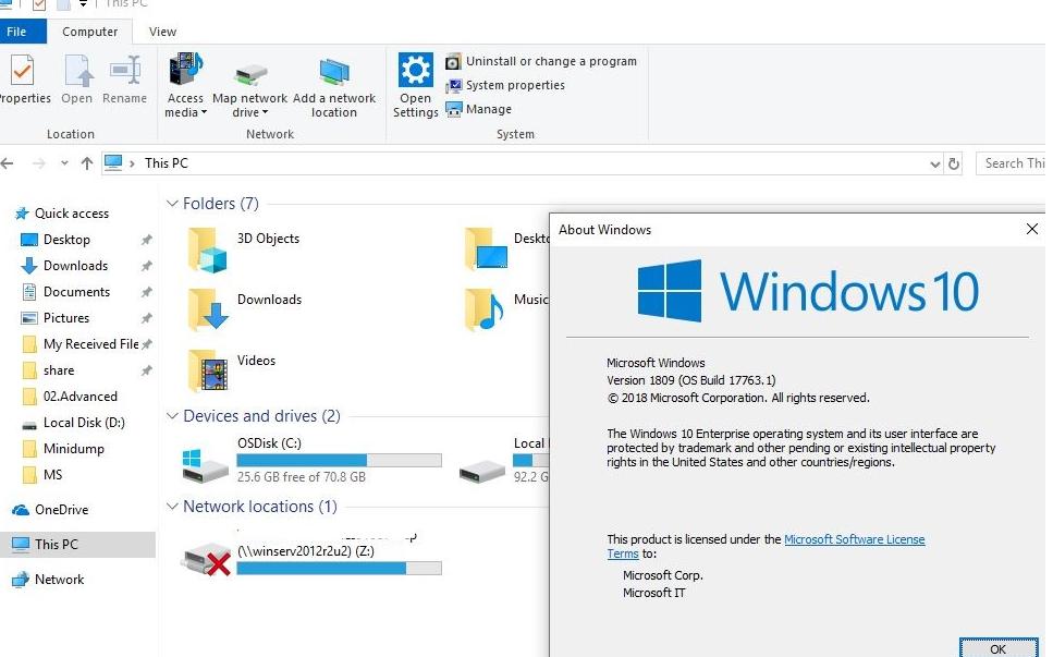 сетевые диски в windows 10 не подключаются с красным крестом