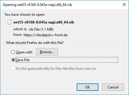 vib файл драйвера для esxi