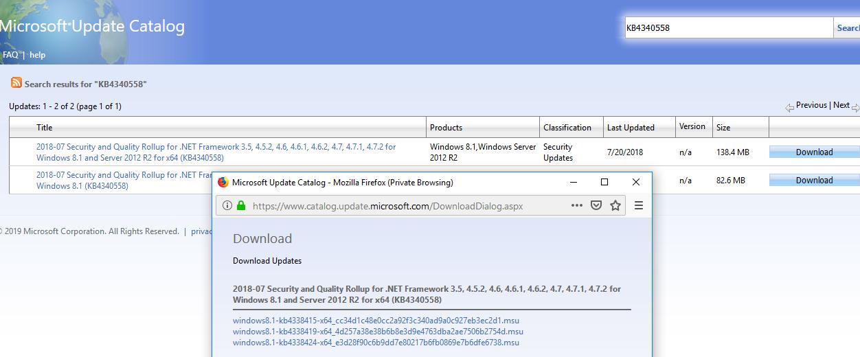 ошибка 0x80092004 при установке .NET Framework в windows server 2012 r2