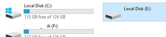 вторичный диск репликации Storage Replica недоступен пользователям