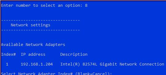назначить статический ip адрес hyper-v