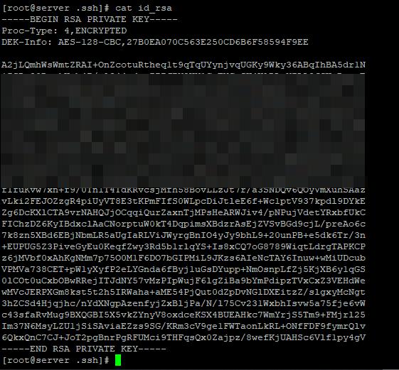 генерация ключей для ssh авторизации