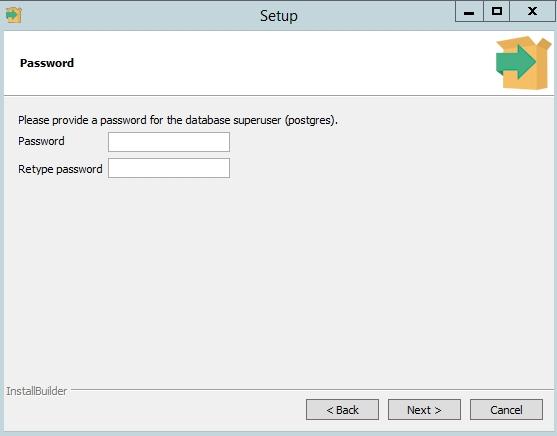 PostgreSQL - задать пароль пользователю postgres