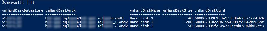 PowerCLI получить UUID для дисков виртуальной машины