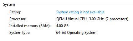 Windows не видит все выделенные виртуальные процессоры