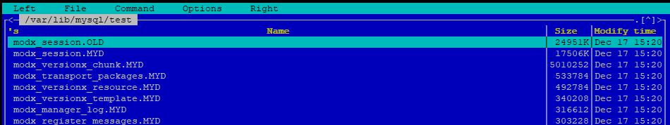 сжатие файлов базы данных с помощью myisampack