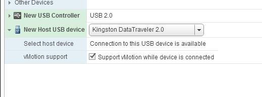 USB Passthrough - проброс флешки в ВМ на vmware esxi