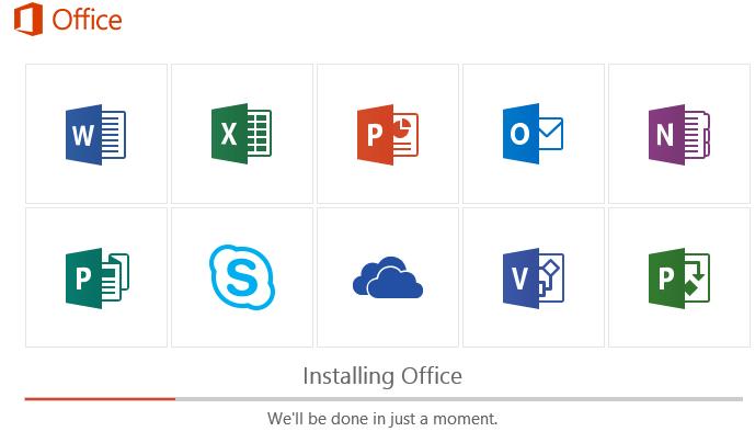 office 2019/365 - всегда устаналиваются все приложения