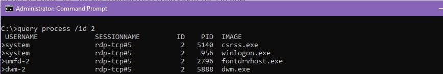 query process по ID