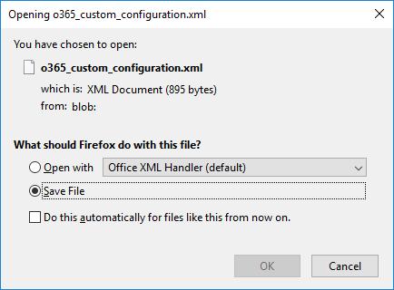 скачати xml файл Office Deployment Tool