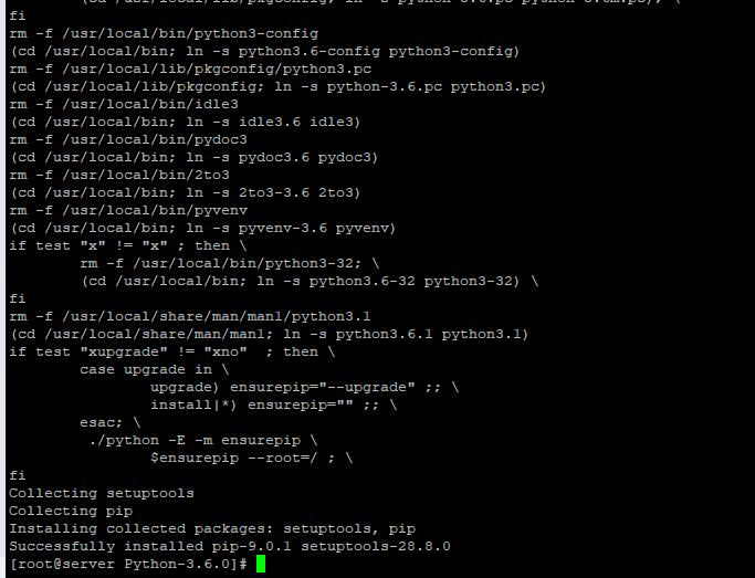 установка Python 3 в centos 7