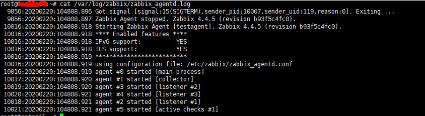 лог zabbix_agentd