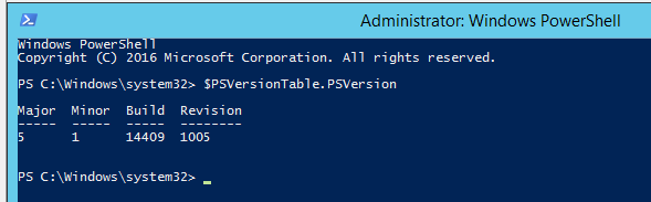 обновление версии windows powershell до 5.1 в windows server 2012 r2