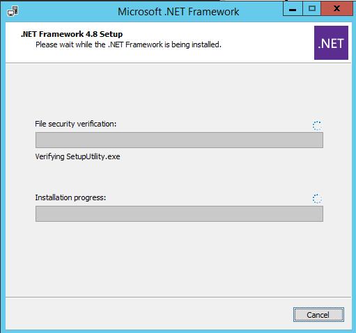 офлайн установка .NET Framework 4.8