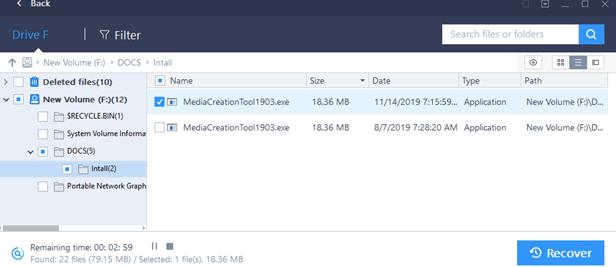 на ssd диске найдены удаленный файлы