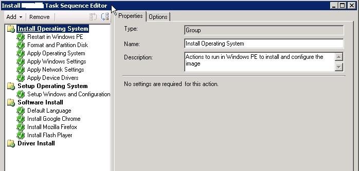 добавление программ в задание сетевой установки windows 10