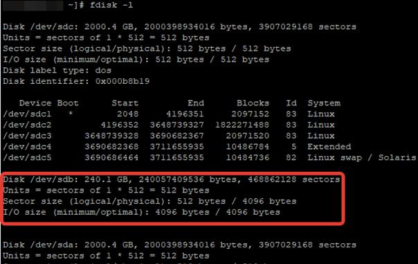 ssd диск в linux centos